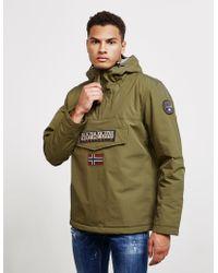 Napapijri - Mens Rainforest Padded Jacket Khaki - Lyst