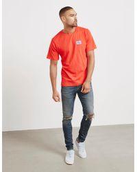 CALVIN KLEIN 205W39NYC - Mens Monogram Short Sleeve T-shirt Red - Lyst