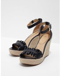 Michael Kors - Womens Bella Wedges Black - Lyst