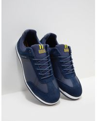 Barbour - Cinder Trainer Navy Blue - Lyst