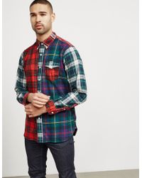 Polo Ralph Lauren - Gingham Long Sleeve Shirt Red - Lyst