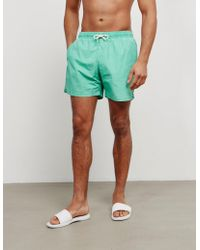 Barbour - Mens Victor Swim Shorts Green, Green - Lyst