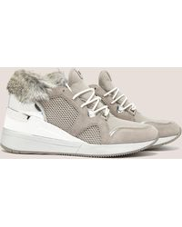Michael Kors   Womens Scout Trainer Grey   Lyst
