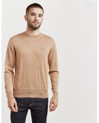 Vivienne Westwood - Mens Crew Neck Knitted Jumper Brown - Lyst