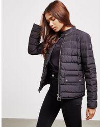 Belstaff - Womens Ranford Padded Jacket Black - Lyst