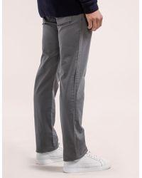 Armani Jeans - Mens J45 Slim Fit Bull Denim Jean Grey - Lyst