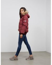 Pyrenex - Womens Aviator Padded Jacket Red - Lyst