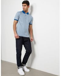 PS by Paul Smith - Mens Hounds Short Sleeve Polo Shirt - Online Exclusive Blue - Lyst
