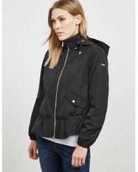 Emporio Armani - Womens Blouson Jacket Black - Lyst