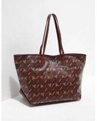 Vivienne Westwood - Womens Collette Small Shopper Bag Brown - Lyst