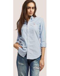 Polo Ralph Lauren - Harper Shirt Blue - Lyst