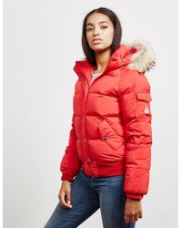 Pyrenex - Womens Aviator Bomber Jacket - Exclusively To Tessuti Red - Lyst