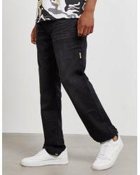 True Religion - Mens Geno Straight Jeans Black - Lyst