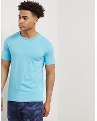 Polo Ralph Lauren - Mens Basic Short Sleeve T-shirt Turquoise/turquoise - Lyst
