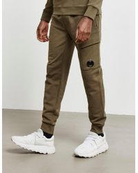 C P Company - Lens Track Pants Green - Lyst
