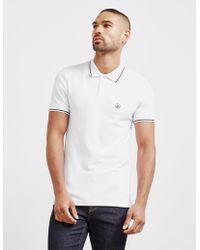 Love Moschino - Mens Peace Short Sleeve Polo Shirt White - Lyst