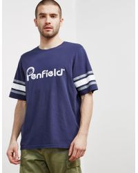 Penfield - Mens Ringold T-shirt - Online Exclusive Navy Blue - Lyst
