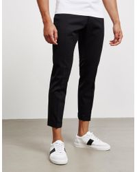 DSquared² - Mens Skinny Dan Fit Chinos - Online Exclusive Black - Lyst