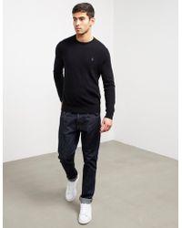Polo Ralph Lauren - Mens Wool Knitted Jumper Black - Lyst