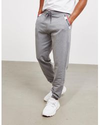 Moschino - Mens Tape Cuffed Track Trousers Grey - Lyst
