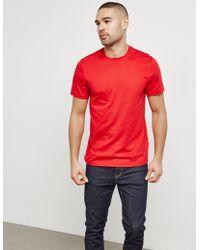 Michael Kors - Mens Short Sleeve Sleek T-shirt Red - Lyst