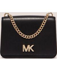 Michael Kors - Womens Chain Crossbody Bag Black - Lyst