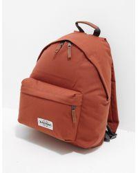 Eastpak - Padded Backpack Orange - Lyst