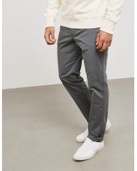 PS by Paul Smith - Mens Pima Tapered Chinos - Online Exclusive Grey - Lyst