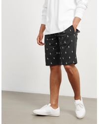 Polo Ralph Lauren - Mens All Over Print Shorts Navy Blue - Lyst