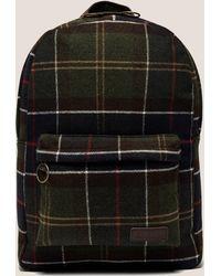 Barbour - Mens Tartan Backpack Multi - Lyst