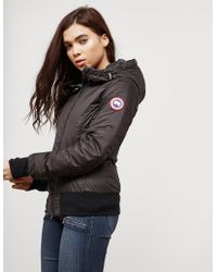 Canada Goose - Womens Dore Lightweight Padded Jacket Black - Lyst