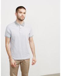 Barbour - Mens Birds Short Sleeve Polo Shirt Grey - Lyst