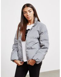 Calvin Klein - Womens Reflective Jacket Grey - Lyst