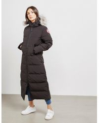 Canada Goose - Mystique Parka Jacket Black - Lyst