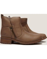 UGG - Womens Lavelle Short Boot Camel - Lyst