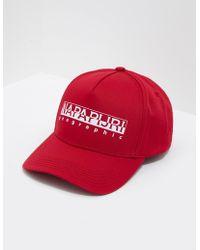 dbaf1c11955 Men s New Era Cap Metal Frame.  25. Karmaloop · Napapijri - Framing True  Red Beret Not Applicable