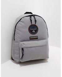 Napapijri - Mens Voyage Backpack Grey - Lyst