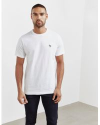 PS by Paul Smith - Mens Basic Zebra Short Sleeve T-shirt White - Lyst