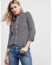 Polo Ralph Lauren - Womens Hiedi Long Sleeve Shirt Black - Lyst
