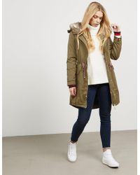 Tommy Hilfiger - Womens Cynthia Padded Parka - Online Exclusive Green - Lyst