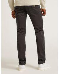 Stone Island - Mens Slim Satine Gabardine Jeans Black - Lyst