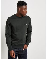 PS by Paul Smith | Mens Zebra Crew Sweatshirt Khaki/khaki | Lyst