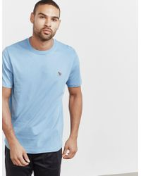 PS by Paul Smith - Mens Basic Zebra Short Sleeve T-shirt Blue - Lyst