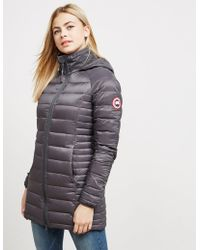 Canada Goose - Womens Brookvale Padded Jacket Black - Lyst