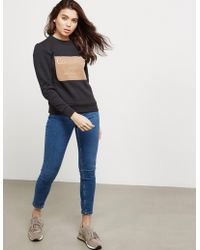 Calvin Klein - Womens Hansi Sweatshirt Black - Lyst