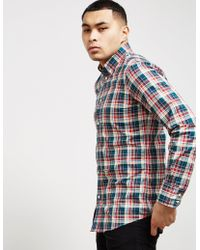 DSquared² - Mens Check Pin Long Sleeve Shirt Multi - Lyst