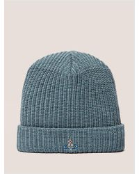 Vivienne Westwood - Orb Knitted Beanie - Lyst