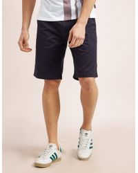 Barbour - Mens Neuston City Shorts Navy - Lyst
