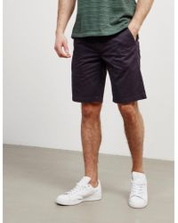 Barbour - Mens Neuston City Shorts Navy Blue - Lyst