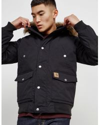 Carhartt WIP - Mens Trapper Padded Jacket Black - Lyst